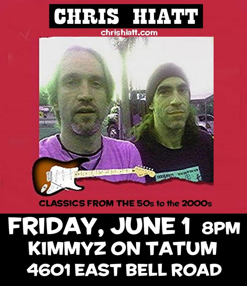 Chris Hiatt - Live Music in Phoenix - Kimmyz Tatum Point