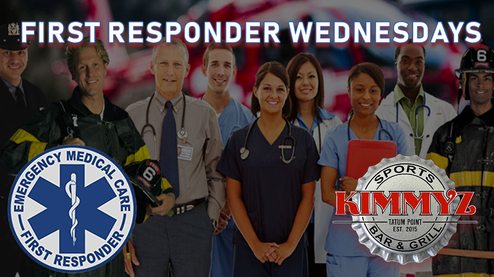 First Responder Wednesdays - Best First Responder Wednesdays in Phoenix - Kimmyz Tatum Point