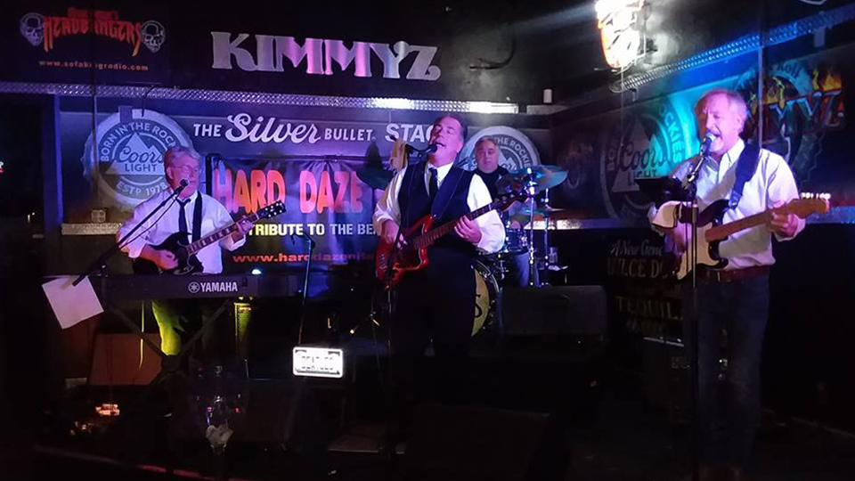Friday May 3rd 2019 Hard Daze Night - Beatles Tribute Band - Live Music Phoenix - Kimmyz Tatum Point