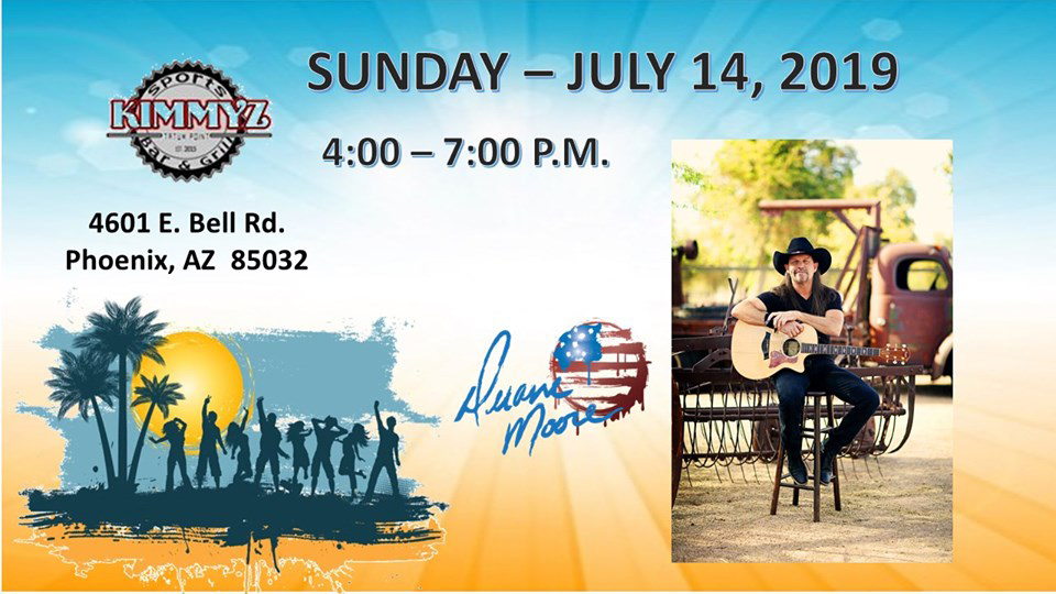 Sunday July 14th 2019 Duane Moore Live Music Phoenix Kimmyz Tatum Point