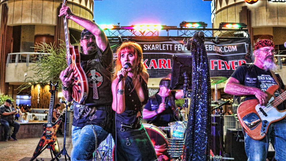 Saturday February 8th 2020 Skarlett Fever Live Music in Phoenix Kimmyz Tatum Point