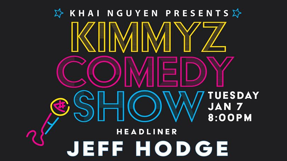 Tuesday January 7th 2020 Comedy Night with Jeff Hodge at Kimmyz Tatum Point