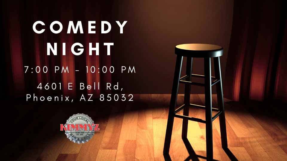 Comedy Night in Phoenix at Kimmyz Tatum Point