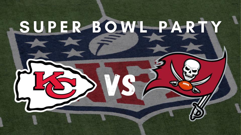 Sunday February 7th 2021 Super Bowl Party Glendale at Kimmyz Tatum Point