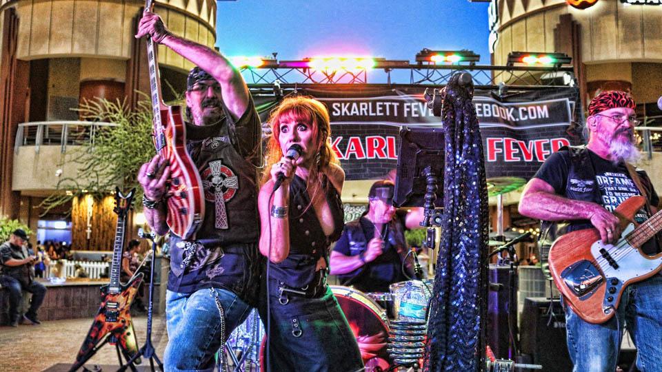 Saturday April 24th 2021 Live Music in Phoenix with Skarlett Fever at Kimmyz Tatum Point