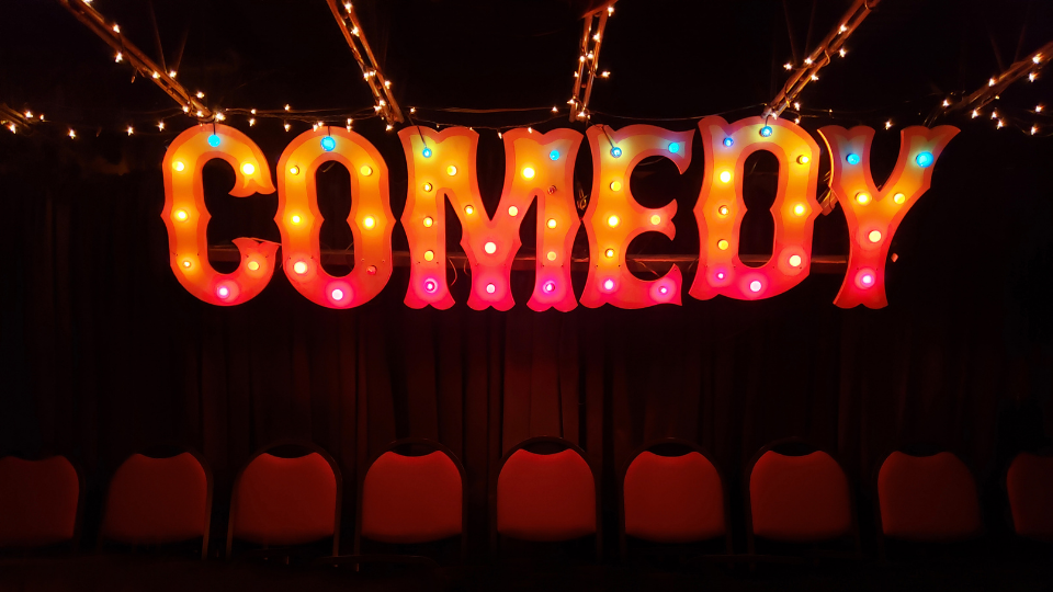Wednesday August 18th 2021 Free Comedy Show at Kimmyz Tatum Point